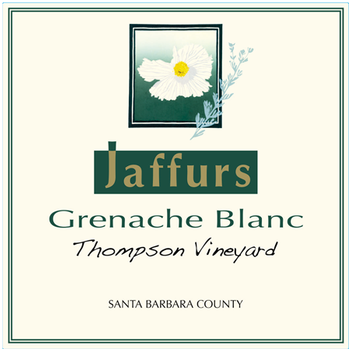 2016 Grenache Blanc, Thompson Vineyard